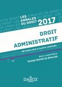Annales Droit administratif 2017