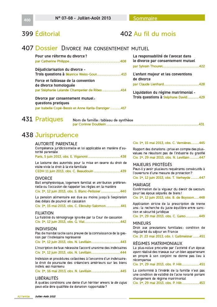 Dalloz revues - Grille pension alimentaire 2013 ...