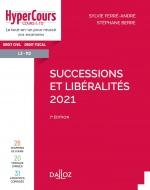 Successions et libéralités 2021