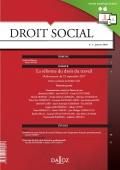 La  réforme du droit du travail. Ordonnances du 22 septembre 2017 (deuxième partie)