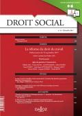 La  réforme du droit du travail. Ordonnances du 22 septembre 2017 (première partie)