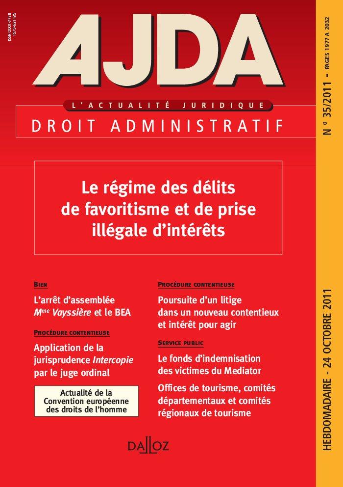 AJDA : l'actualité juridique. Droit administratif